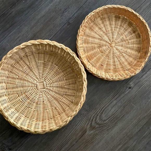Boho Decorative Wall Baskets